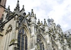 Gothic cathedral Stock Images