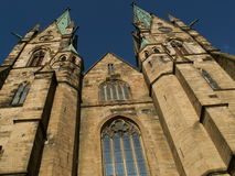Skara, Sweden. Gothic cathedral in Skara, Sweden Stock Images