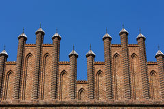 Gothic cathedral spires Stock Images