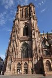 Gothic cathedral in Strasbourg Stock Photography
