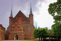 Frombork stock image