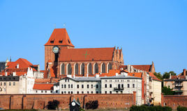 Gothic cathedral  in Torun, Poland Royalty Free Stock Photography