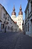 Gothic cathedral in Trnava - Slovakia Royalty Free Stock Photos