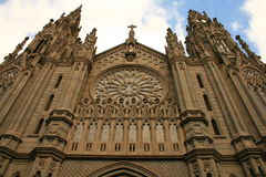 Gothic cathedral in tropics Stock Photo