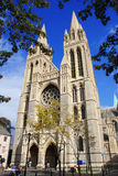 Gothic cathedral in Truro,UK Stock Images