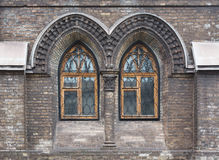 Gothic cathedral windows Stock Photos