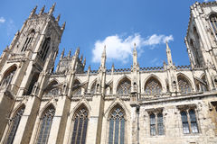 Gothic Cathedral in York,uk Stock Photography