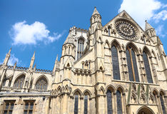 Gothic Cathedral in York,uk Royalty Free Stock Image