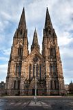Gothic cathedrale in Edinburg Scotland Royalty Free Stock Photo