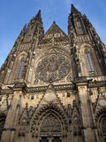 Gothic catholic church. Prague Cathedral Gothic catholic church Royalty Free Stock Image