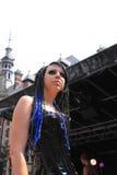 Gothic catwalk stock images