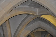 Gothic ceiling architecture detail indoor. Image Royalty Free Stock Photography
