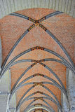 Gothic ceiling in church Royalty Free Stock Image