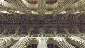 Gothic Ceiling royalty free stock photography