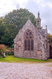 Gothic Chapel in French brittany Stock Photo