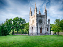 Gothic chapel, Saint-Petersburg, Russia royalty free stock photo