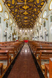 Gothic Church. In Thailand Nativity of Our Lady Cathedral royalty free stock photography