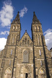 Gothic church. On Vysehrad, Prague, Czech republic Royalty Free Stock Photo