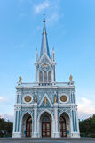 Gothic Church. In Ampawa, Thailand Stock Image