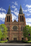 Gothic church in the Austrian town of Bregenz. Stock Photography
