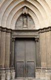 Gothic church in Barcelona, Spain Stock Image