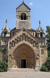Gothic church in the Castle of Vajdahunyad Stock Photo