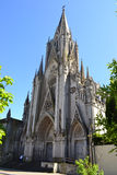 Gothic church. In the city of Montevideo, Uruguay Stock Photos