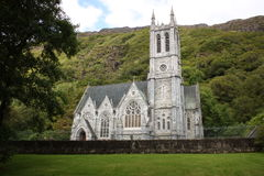 Gothic Church in Connemara area West of Ireland. Gothic Church in the Connemara area of West of Ireland royalty free stock image