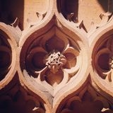 Gothic church detail closeup Royalty Free Stock Photo