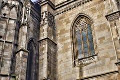 Gothic church detail. Stock Photos