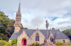 Gothic Church in French brittany Royalty Free Stock Photo