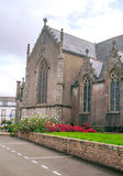 Gothic Church in French brittany Stock Images