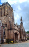 Gothic Church in French brittany Stock Image