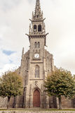 Gothic Church in French brittany Royalty Free Stock Image