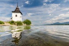 Gothic church Havranok at Lake Liptovska Mara, Slovakia Stock Photography