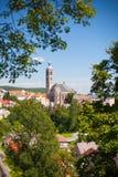 Gothic church in Kutna Hora, Czech Republic. UNESCO. Stock Photo