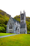 Gothic church at Kylemore Abbey Royalty Free Stock Photography