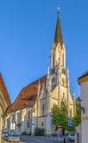 Gothic church, Melk, Austria Royalty Free Stock Photos