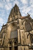 Gothic Church in Munster Royalty Free Stock Images