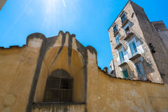 Gothic church in Naples Stock Photos