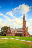 Gothic church in New England Stock Photography