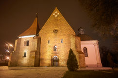 Gothic church in the night Stock Photos