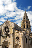 Gothic church in Nimes France Royalty Free Stock Photos