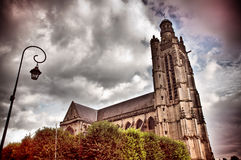 Gothic church Royalty Free Stock Photo