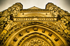 Gothic church Royalty Free Stock Images