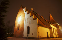 Gothic church of the order Royalty Free Stock Image