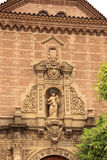 Gothic church in Poble Espanyol, Barcelona Stock Photo