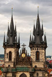 Gothic church in Prague Stock Images