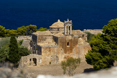 Gothic church, Pylos, Greece Royalty Free Stock Photography