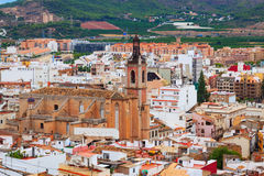 Gothic church at Sagunto Royalty Free Stock Images